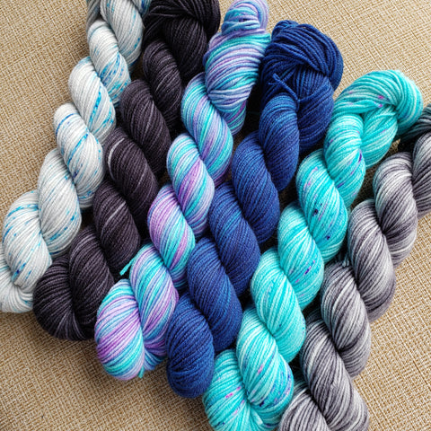 Northern Lights Mini Skein Set