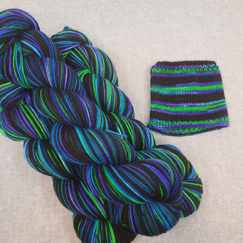 The Family Jewels Self Striping Ridley Sock
