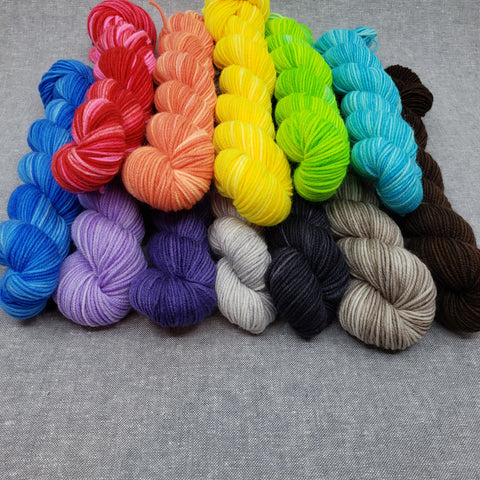 Ridley Sock Mini Skeins!!