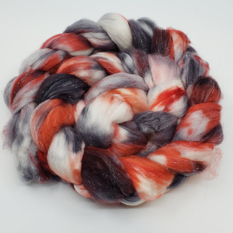 Winter Berries Merino/Cashmere/Stellina Spinning Fiber