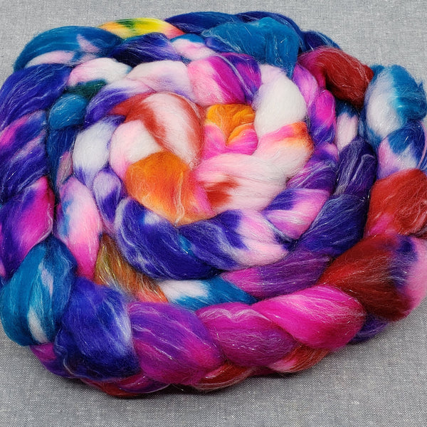 Totally Tropical Batik Merino/Stellina Spinning Fiber