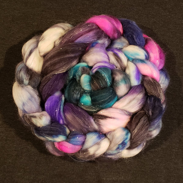 Magical Mystery Tour Merino/Cashmere/Stellina Spinning Fiber