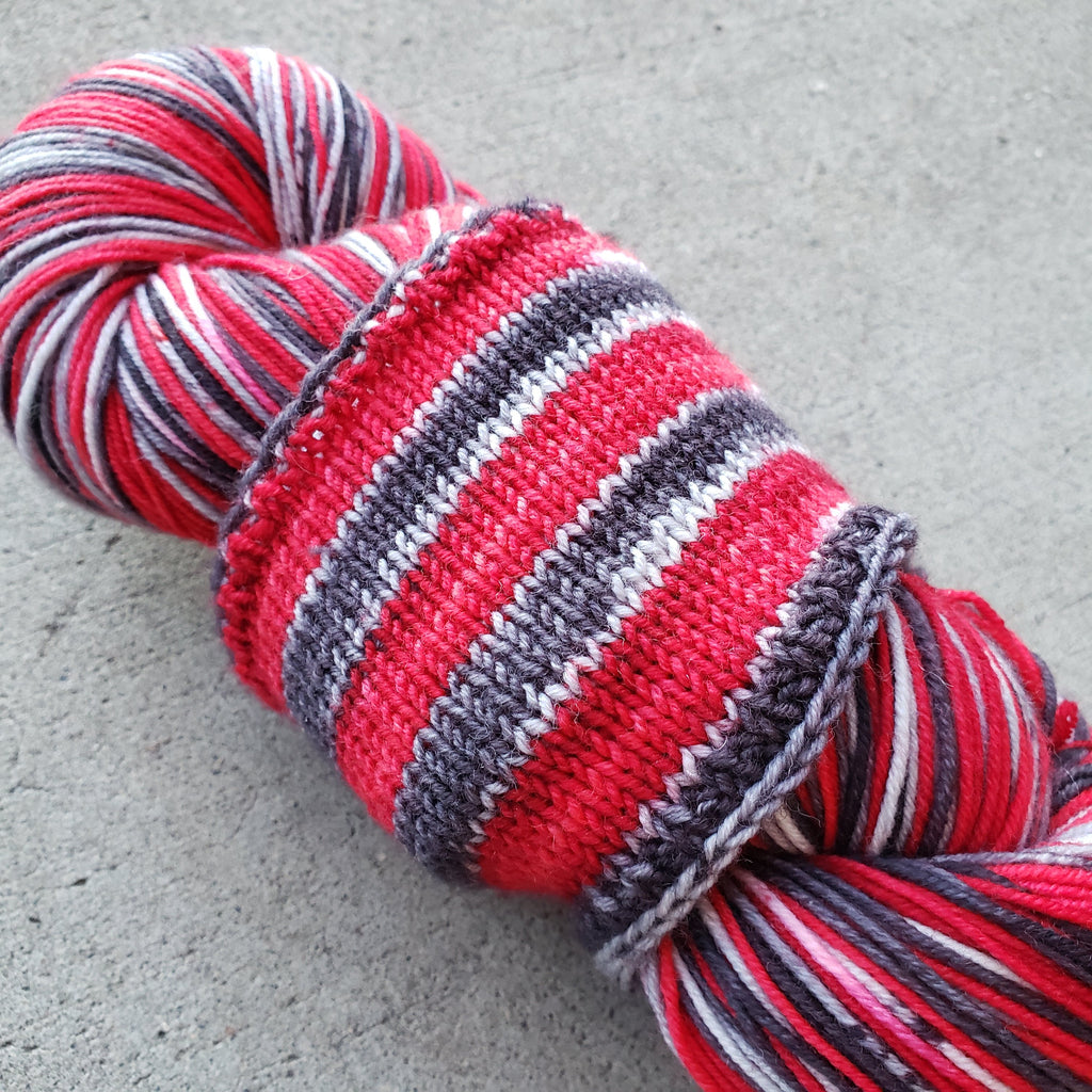 Horror Movie Self Striping Ridley Sock