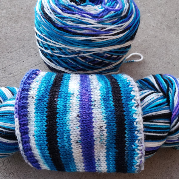 Stupendous Self Striping Ridley Sock