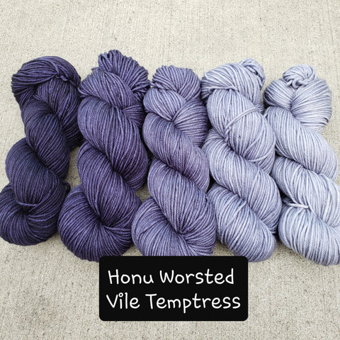 Vile Temptress FULL SKEIN Yarn Set