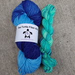 Knit Fast, Heel Later Set with Blue Lagoon