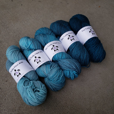 Mountain Lake FULL SKEIN Yarn Set