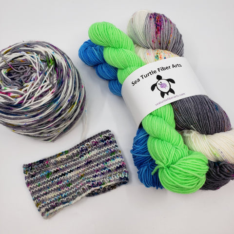 Flockers Sock Yarn Set with Minis