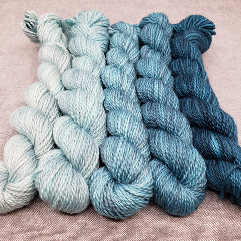 Mountain Lake Mini Skein Set - Reef Fingering