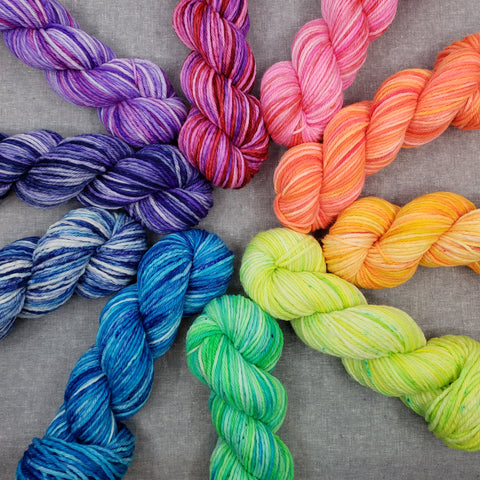 Rainbow Collection - Half Skein Sets