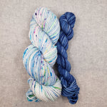 Knit Fast, Heel Later Sky Counting Stars and Blue Mini