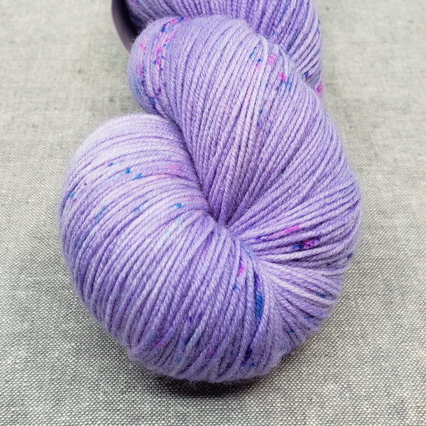 Purple People Eater  - Speckles Dyed to Order - All bases