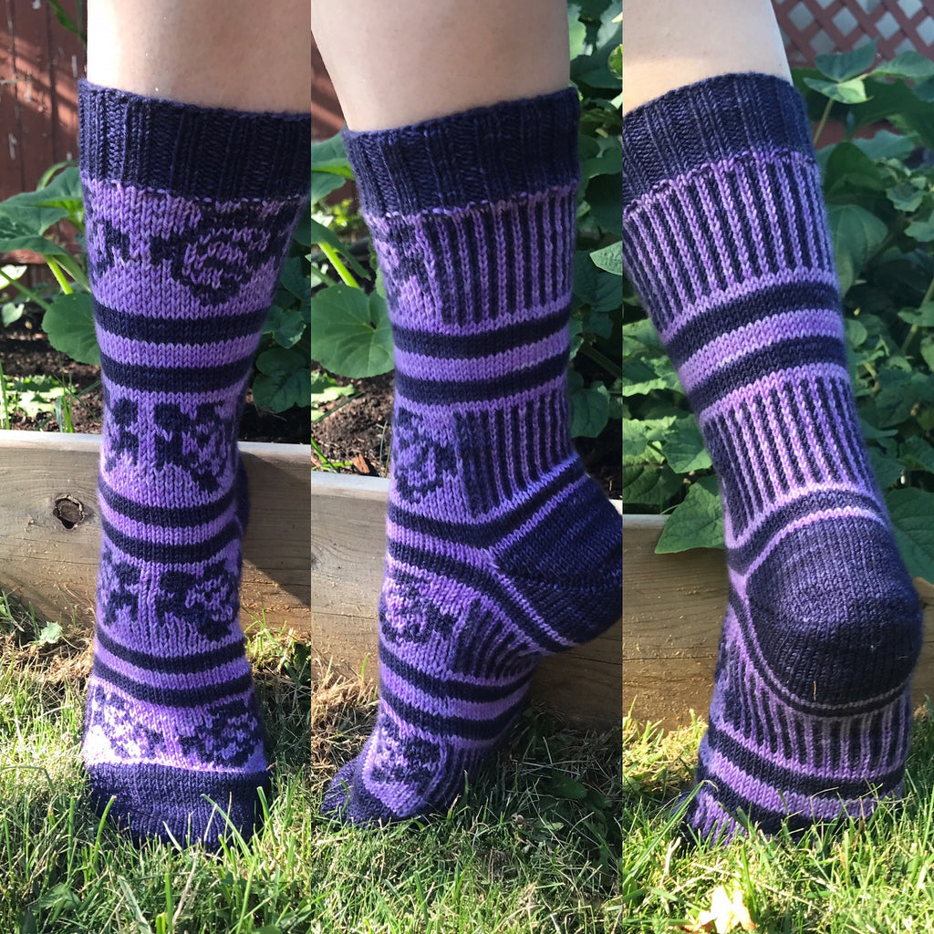 Sea Turtle Socks Pattern