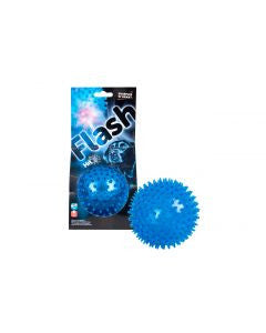 Flash LED bouncy ball dog toy