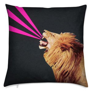 Velvet Cushion ROAR