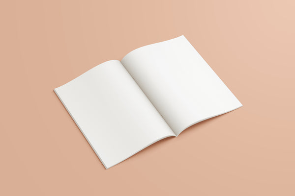 A5 Plain Recycled Notebook - Blancmange Surprise