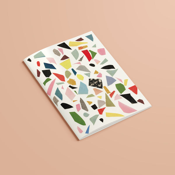Plain Recycled Notebook - Abstract 009