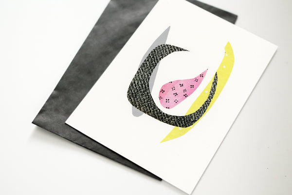 Abstract Postcard Set - Abstract Florals