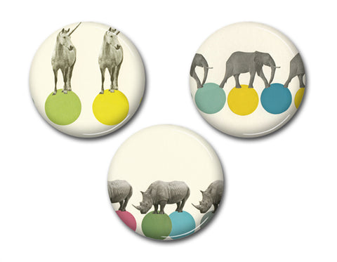 Badge Set - Animal Magic