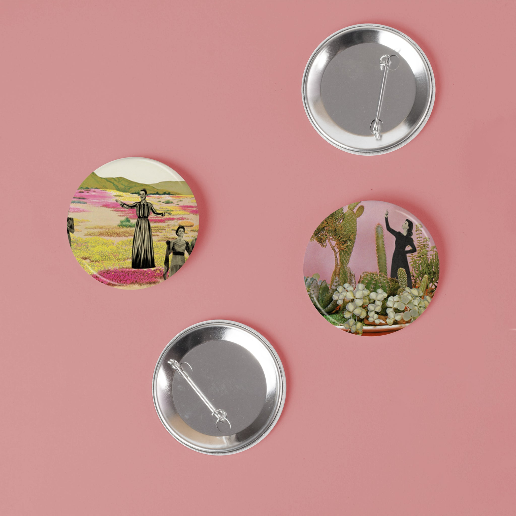 Cactus Badge Set - Cactus Ladies