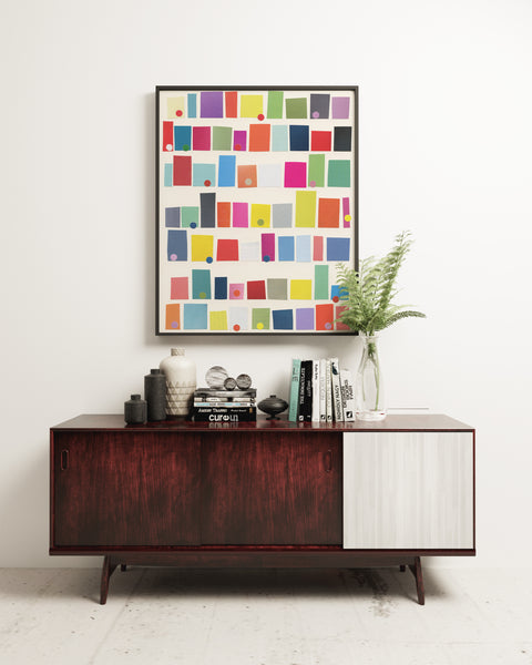 City Abstract Art Print
