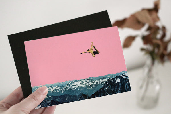 Mountain Postcard Set - Dive