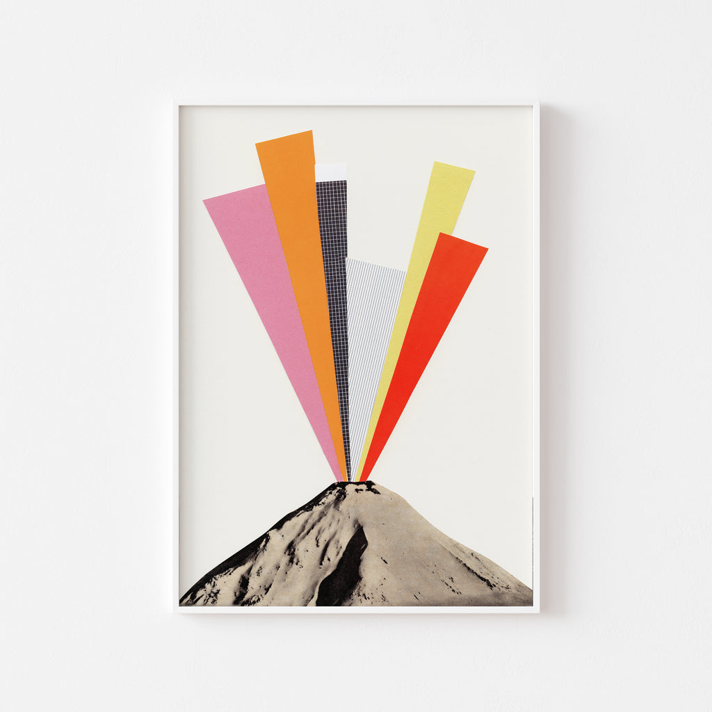 Eruption Art Print