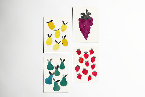 Fruit Postcard Set - Fruity