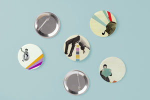 Retro Badge Set - Gentlemen's Club
