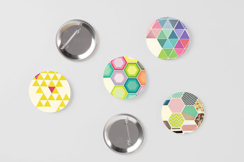 Badge Set - Geo Set