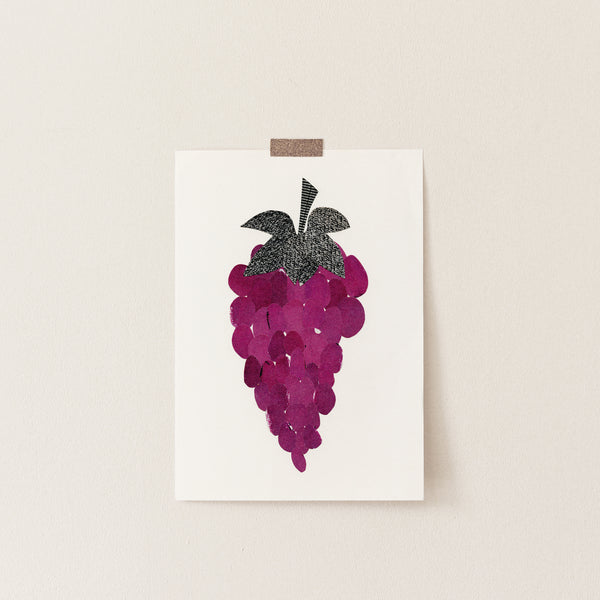 Grapes - Art Print