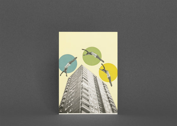 Blank Greetings Card With Envelope - High Flyers