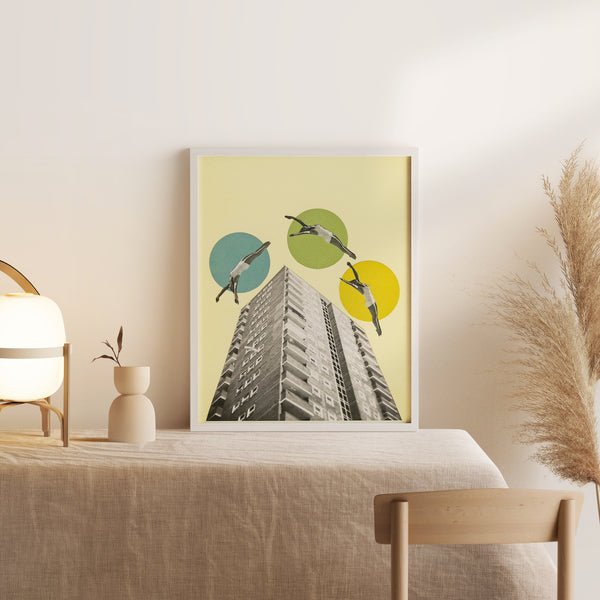Framed Giclée Print - High Flyers