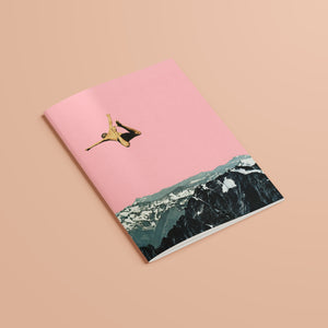 A5 Plain Recycled Notebook - Higher Than Mountains