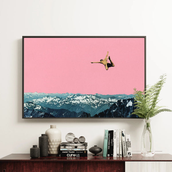 Surreal Mountain Wall Art - Higher Than Mountains