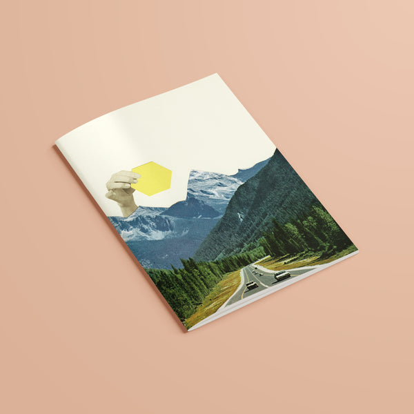 A5 Plain Recycled Notebook - Moving Mountains