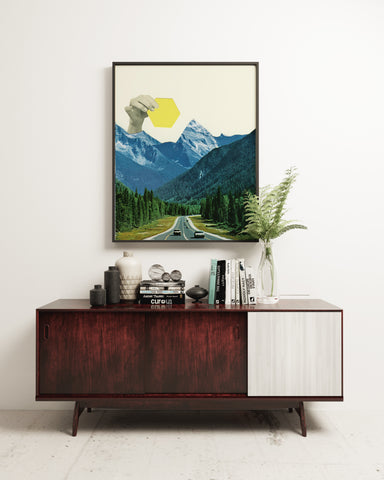 Moving Mountains Art Print