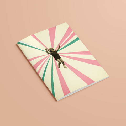 A5 Plain Recycled Notebook - Play