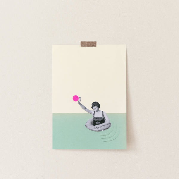 Pool Days - Art Print
