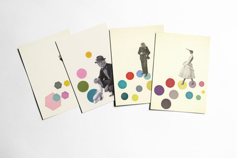 Postcard Set - Animal People