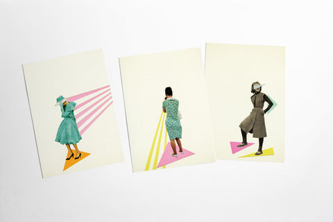 Art Postcard Set - Modern Women