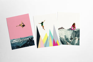 Mountain Postcard Set - Other Worlds