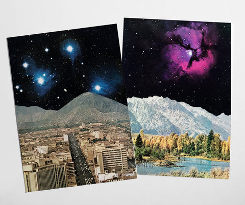 Sci-fi Postcard Set - Time and Space
