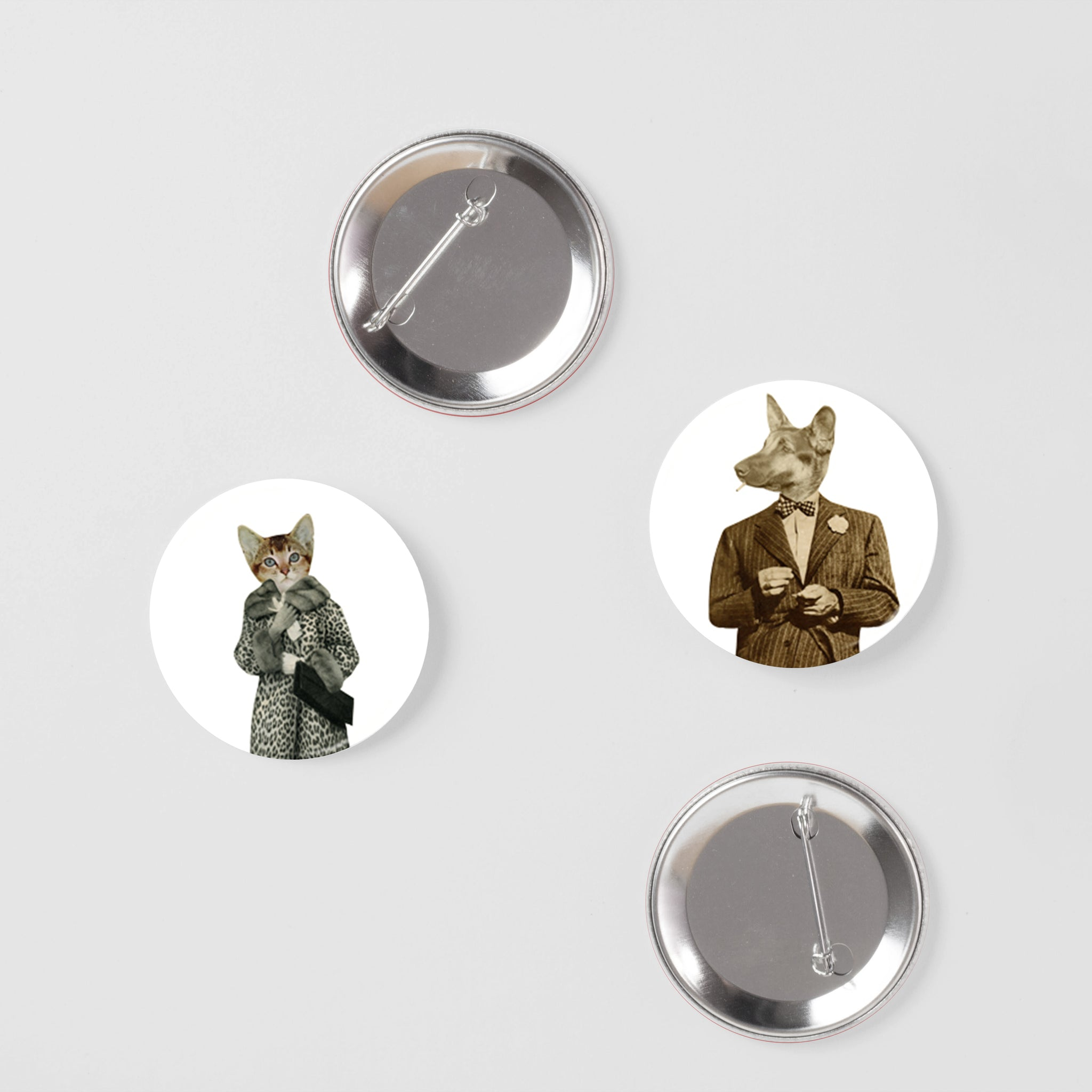 Animal Badge Set - Puppy Love