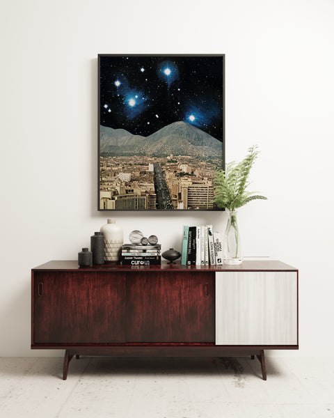 Space City - Art Print
