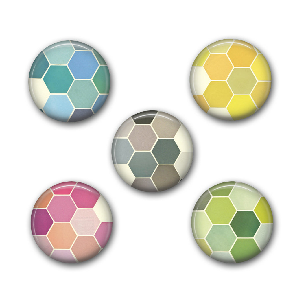 Badge Set - The Honeycomb Set