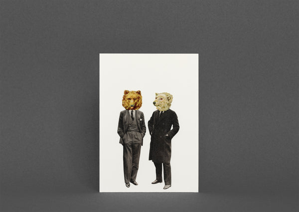 Blank Greetings Card With Envelope - The Likely Lads