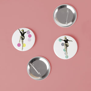 Ballet Badge Set - The Rules of Dance
