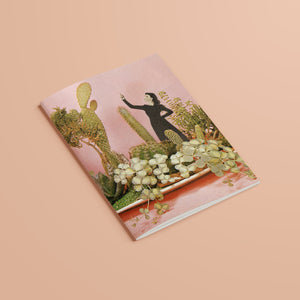 A5 Plain Recycled Notebook - The Wonders of Cactus Island