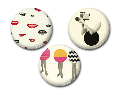 Badge Set - The Mod Set